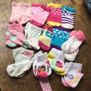 Baby girls sock bundle